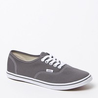 Vans Pewter Authentic Lo Pro Canvas Sneakers - Womens Shoes - Gray