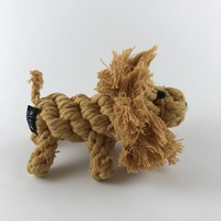 Lion Rope Dog Toy