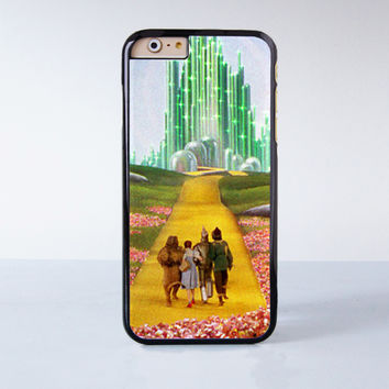 The Wizard Of Oz Over The Rainbow Plastic Case Cover for Apple iPhone 6 6 Plus 4 4s 5 5s 5c
