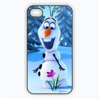 Iphone 5c Case, Olaf Frozen Iphone 5c Case, Snowman Hard Cover