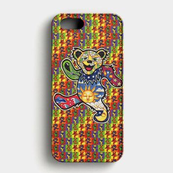 The Grateful Dead Dancing Bear iPhone SE Case
