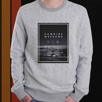 Vampire Weekend sweater Sweatshirt Crewneck Men or Women Unisex Size