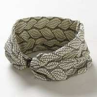Chellah Turban by Anthropologie Grey One Size Hair