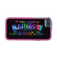 If You Want a Rainbow You Have to Have the Rain Case For iPhone 5