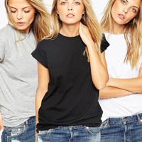 ASOS The Ultimate Easy T-Shirt 3 Pack SAVE 20%