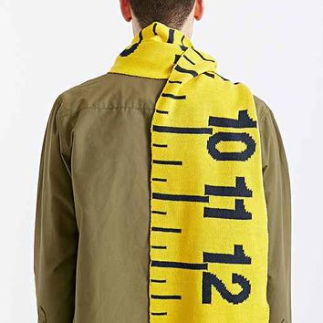 Ruler Scarf- Yellow One