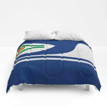 Portuguese Hawks culture Comforters by Tony Silveira