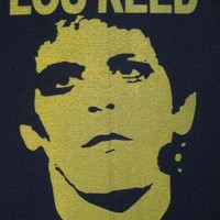 Vintage 70s LOU REED shirt by rainbowgasoline on Etsy