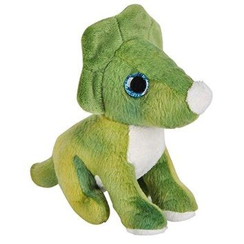 Wildlife Tree 3.5 Inch Triceratops Mini Small Stuffed Animals Bulk Bundle of Dinosaur Toys or Prehistoric Dino Party Favors for Kids Pack of 12