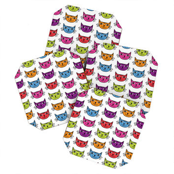 Andi Bird Cat Love Coaster Set
