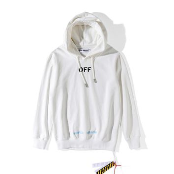 """AUGUAU  Off-White """"Care Of Off White """"Hoodie"""