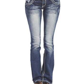 Amethyst Boot Cut Jeans | Wet Seal