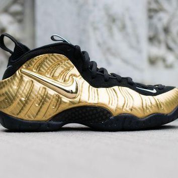 DCCK Nike Air Foamposite Pro 'Metallic Gold'