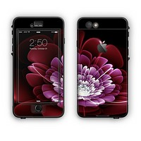 The Glowing Abstract Flower Apple iPhone 6 LifeProof Nuud Case Skin Set
