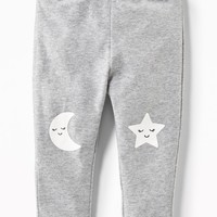 Knee-Graphic Leggings for Baby|old-navy