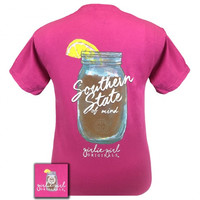 Girlie Girl Southern State Of Mind Tea Comfort Colors T-Shirt
