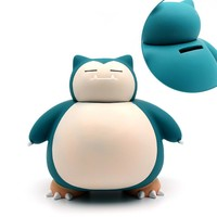 Game Pocket Monster  Snorlax Coin Collection Money Box Savings Bank Piggy Banks Cosplay Collection Otaku Gifts CoolKawaii Pokemon go  AT_89_9