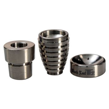 Black Leaf - Oil Pan Domeless Titanium Concentrate Nail