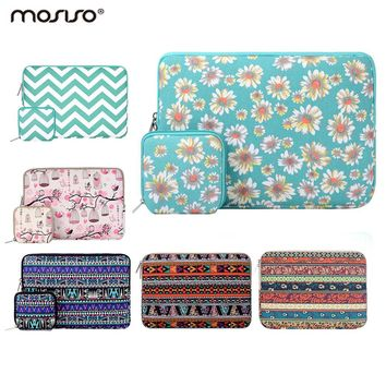 Mosiso Women 11.6 13.3 15.6 inch Laptop Sleeve Case for MacBook 12 Air Pro 11 13 15 Asus Samsung Chromebook Notebook Handbag