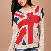 British Invasion Knit | Knit Sweaters at Pink Ice