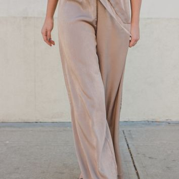 Inclined to Impress Wide Leg Pants
