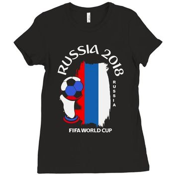 Russia national team youth 2018 fifa world cup Ladies Fitted T-Shirt