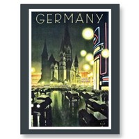 Germany travel ad (Berlin) Postcards from Zazzle.com