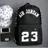 AIR JORDAN 23 Skateboard Sport Laptop Bag Double Shoulder School Bag Backpack
