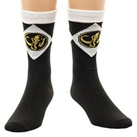 Power Rangers Black Ranger Crew Socks