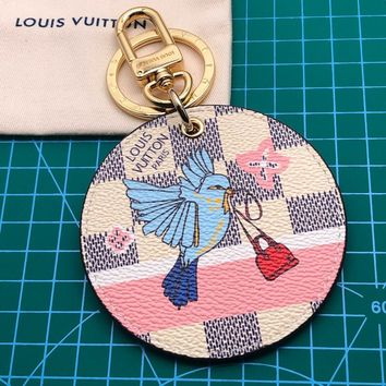 Louis Vuitton Lv M63751 Xmas Animals Bag Charms & Key Chains