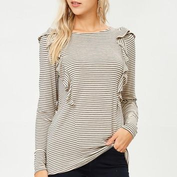 Double Vision Striped Top