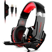 Stereo Gaming Headset For Xbox one Controller PS4 Headset Gaming Headphone With Microphone For Nintendo Switch Game Laptop Mac