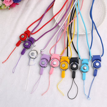 Neck Strap Ring Lanyard Detachable For iPhone For Samsung Cell Phone ID Card PSP MP3