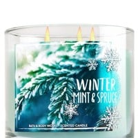 3-Wick Candle Winter Mint & Spruce