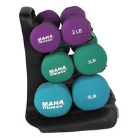 ProFit Dumbbell Set With Stand - 20 Lb
