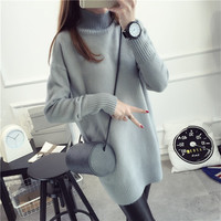 Women's Pullovers, spring long Sleeve sweater