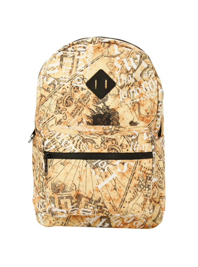 Harry Potter Marauders Map Backpack From Hot Topic