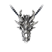 Dragon Necklace, Gothic Necklace, Mighty Dragon Necklace, Game of Thrones Inspired, Gothic Dragon, Medieval Dragon