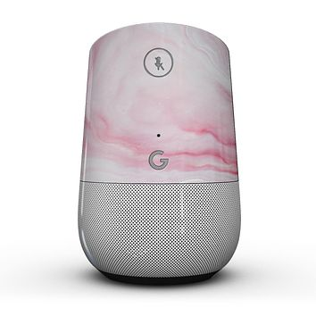 Marbleized Pink Paradise V4 - Full-Body Skin Kit for the Google Home Assistant