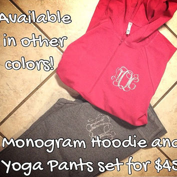 Mongram Yoga Set