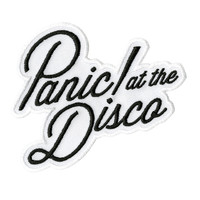 Panic! At The Disco Logo Iron-On Patch