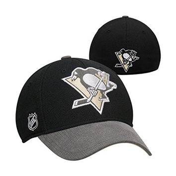 Pittsburgh Penguins Reebok Center Ice 2014 Stanley Cup Playoff Flex Fit Hat (L/XL)