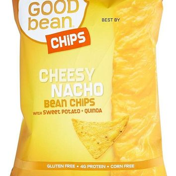 THE GOOD BEAN: Cheesy Nacho Bean Chips, 5 oz