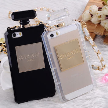 chanel no.5 perfume iphone case 5 5s TPU plastic case cover collection vintage samsung note