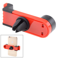 JHD-26HD67 Portable Car Air Vent Mount for Mobile Phone - Red