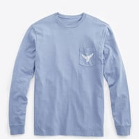 Long-Sleeve VV Tail Pocket T-Shirt