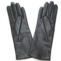 Amazon.com: Fownes Women's Cashmere Lined Black Lambskin Leather Gloves 7/M: Clothing