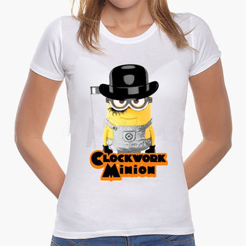 Clockwork Orange Minion Women or Men T-Shirt
