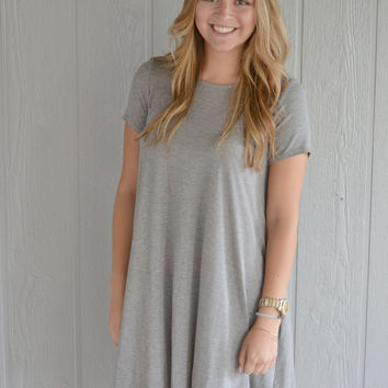 Weekend Fun Dress: Grey