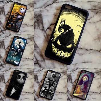 KETAOTAO The Nightmare Before Christmas Phone Cases for Samsung galaxy S3 4 5 6 7 8 9 Note 5 7 8 Case Soft TPU Rubber Silicone